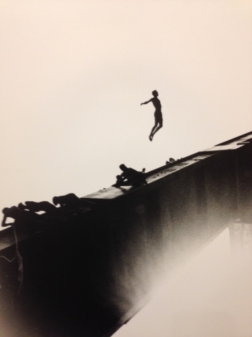 Photo from exhibition: Les Chutes by Marine Gautier